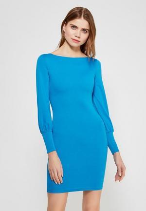 Платье Miss & Missis. Цвет: голубой