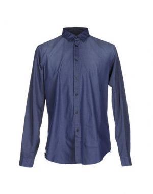 Pубашка MESSAGERIE. Цвет: синий