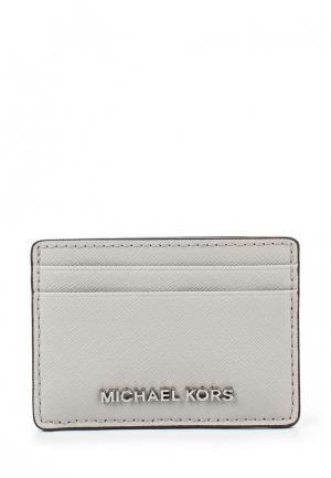 Визитница Michael Kors. Цвет: серый