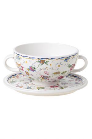 Суповая чашка на блюдце 0,5 л IMARI. Цвет: мультиколор