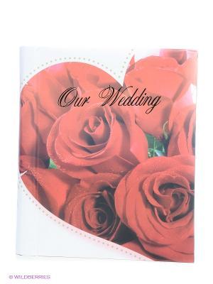 Фотокнига Wedding story 2 VELD-CO. Цвет: красный