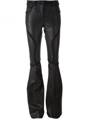 Расклешенные брюки Faith Connexion. Цвет: чёрный
