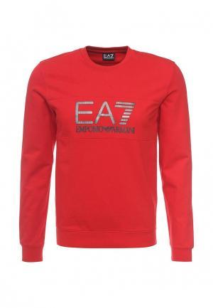 Свитшот EA7. Цвет: красный
