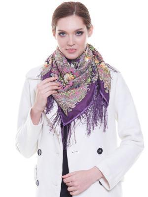 Платок Donatello Viorano. Цвет: сливовый, фиолетовый