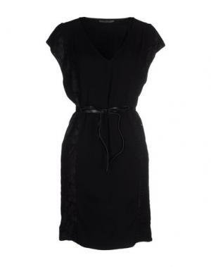 Короткое платье REBEL QUEEN. Цвет: черный