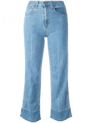 Укороченные джинсы Lou Rag & Bone /Jean. Цвет: none