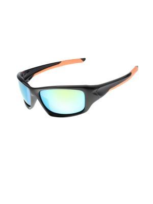 Солнцезащитные очки Gusachi. Цвет: черный, зеленый, голубой, оранжевый