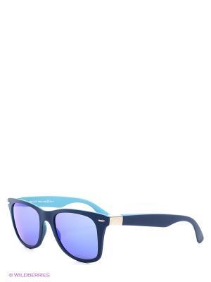 Солнцезащитные очки Franco Sordelli. Цвет: синий, голубой