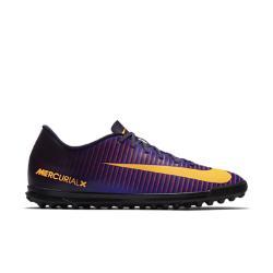 Мужские футбольные бутсы для игры на газоне  Mercurial Vortex III TF Nike. Цвет: пурпурный