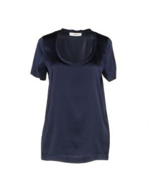 Блузка SUOLI. Цвет: темно-синий