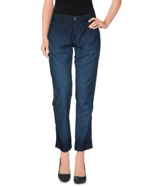 Повседневные брюки NSF. Цвет: грифельно-синий