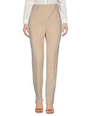 Повседневные брюки CEDRIC CHARLIER. Цвет: бежевый