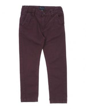 Повседневные брюки BARNUM. Цвет: красно-коричневый
