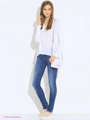 Блуза Rosa&Friends. Цвет: белый