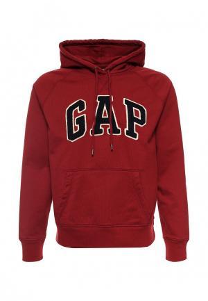 Худи Gap. Цвет: бордовый