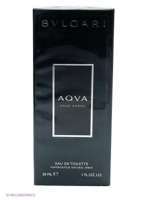 Туалетная вода Aqua Homme, 30 мл BVLGARI. Цвет: прозрачный