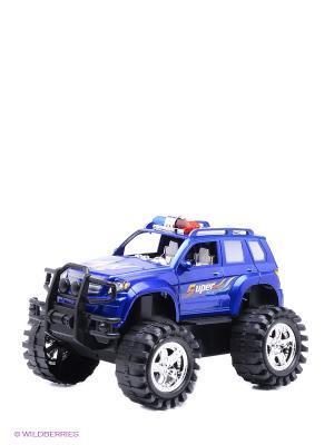Машинка S-S. Цвет: синий