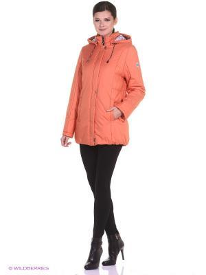 Куртка JASMIN Maritta. Цвет: оранжевый