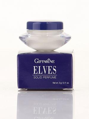 Elves Solid Perfume - Сухие духи с природными феромонами от Giffarine. Цвет: белый