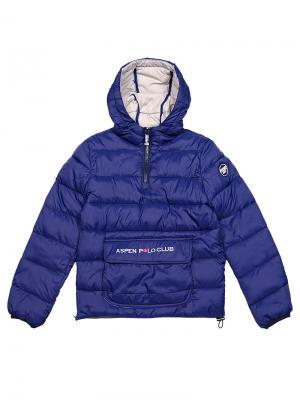 Куртка Aspen Polo Club. Цвет: синий
