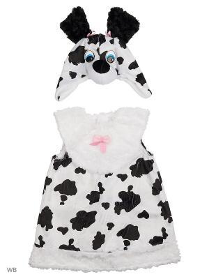 Карнавальный костюм Далматиночка Джеси Батик. Цвет: черный, белый