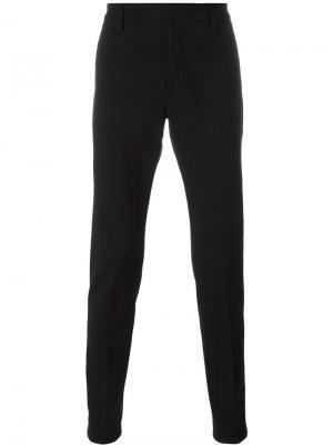 Зауженные брюки Gaubert Dondup. Цвет: чёрный