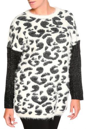 Пуловер SARAH KERN. Цвет: черный, кремовый