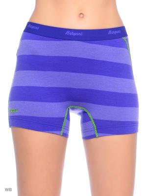 Термобелье-шорты Bergans. Цвет: голубой, фиолетовый