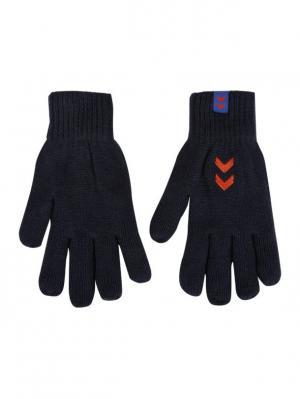 Перчатки MOMENTUM GLOVES HUMMEL. Цвет: синий, красный