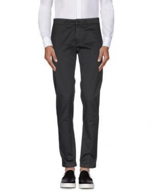 Повседневные брюки DEPARTMENT 5. Цвет: свинцово-серый