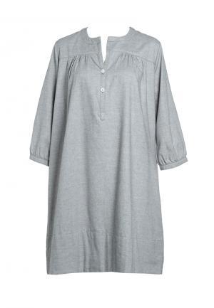 - Daisy Фланелевая ночная рубашка Серый меланж SUNDAY IN BED