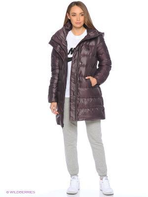 Куртка W NSW DWN FLL PRKA HD Nike. Цвет: фиолетовый