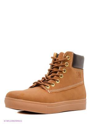 Ботинки XTI. Цвет: коричневый