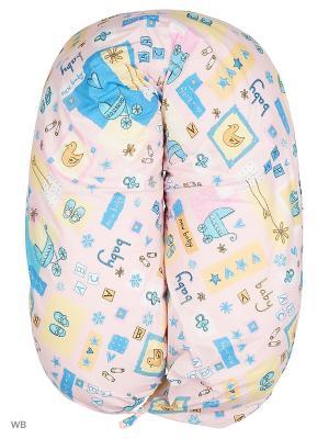 Подушка для беременных EUROMAMA. Цвет: сиреневый, лиловый, розовый