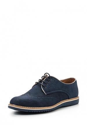Туфли Tony-p. Цвет: синий