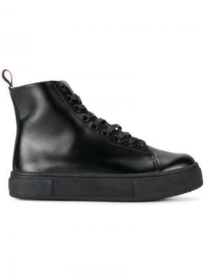 Ботинки на плоской подошве Kibo Eytys. Цвет: чёрный