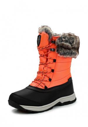 Ботинки Icepeak. Цвет: розовый