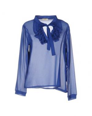 Блузка H2O ITALIA. Цвет: синий