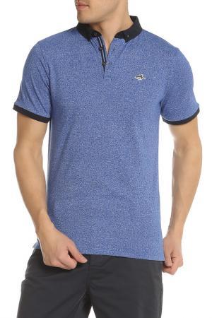Рубашка-поло LE SHARK. Цвет: синий