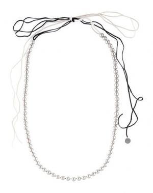 Ожерелье MARIA CALDERARA. Цвет: серебристый