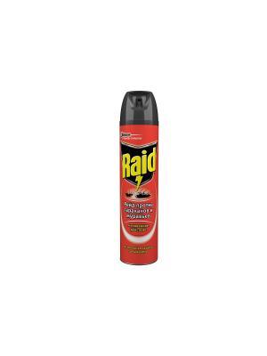 Аэрозоль от тараканов  и муравьев 300 мл RAID. Цвет: красный