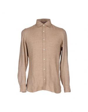 Pубашка GIAMPAOLO. Цвет: песочный