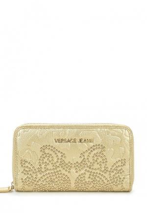 Кошелек Versace Jeans. Цвет: золотой