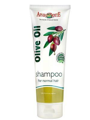 Шампунь для нормальных волос с экстрактом розмарина Aphrodite, 35мл (Греция) Aphrodite. Цвет: зеленый