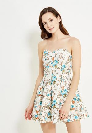 Платье Irina Vladi. Цвет: белый