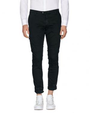 Повседневные брюки SSEINSE. Цвет: темно-зеленый