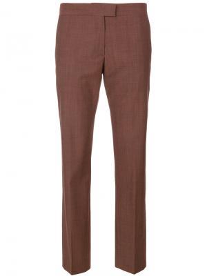 Укороченные прямые брюки Ps By Paul Smith. Цвет: красный