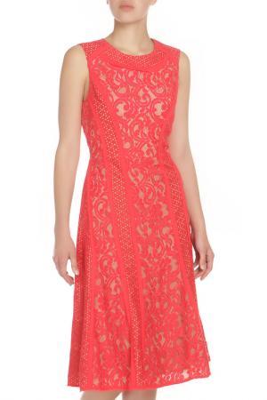 Платье коктейльное BCBG Max Azria. Цвет: красный