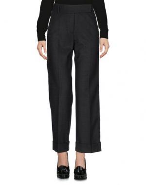 Повседневные брюки CIVIDINI. Цвет: стальной серый
