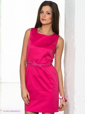 Платье Conver Vintage. Цвет: фуксия